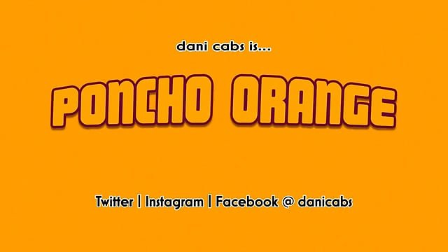 Poncho Orange